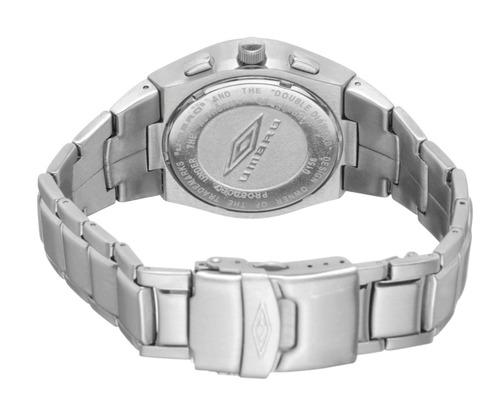 cronometro umbro u156qa 100% acero sumergible