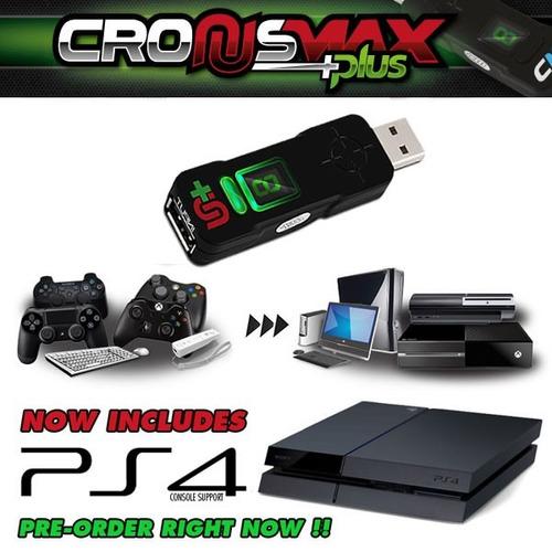 cronusmax adaptador multi função xbox one xbox 360 ps3 e pc