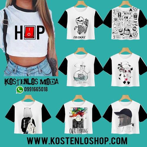 crop top, blusas de mujer por mayor fabricante