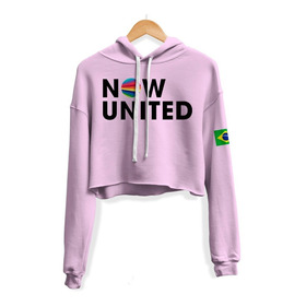 Cropped Moletom Now United Any Gabrielly 06 Music Blusinha