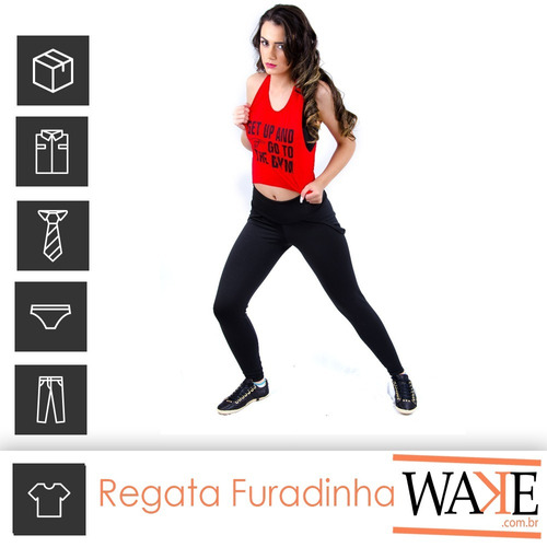 cropped regata  get up and go to the gym  | ref: 011