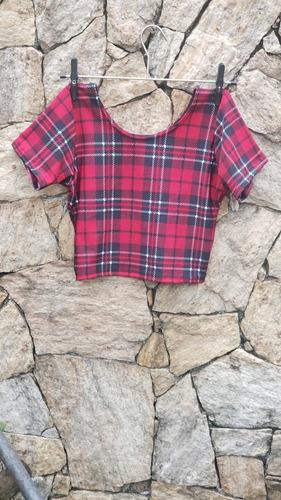cropped roupas blusa