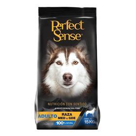 Croqueta Adulto Raza M Y G 15kg Perfect Sense Alimento Perro