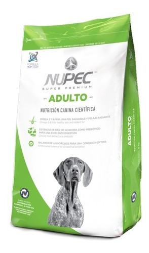 croquetas alimento para perro adulto raza grande 2 kg. nupec