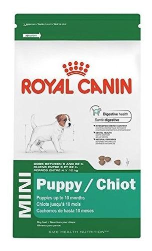 croquetas alimento perro cachorros mini 1.1kg royal canin