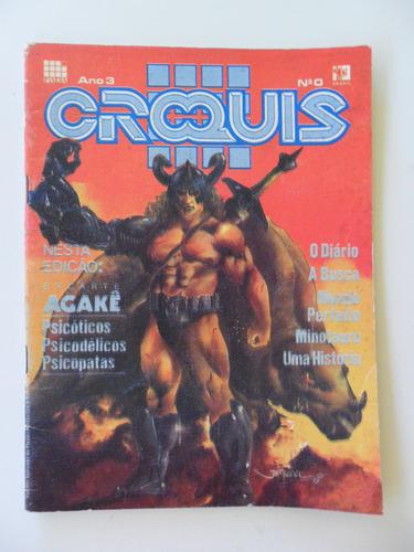 croquis quadrinhos nº 0! brasileiros! pada 1993!