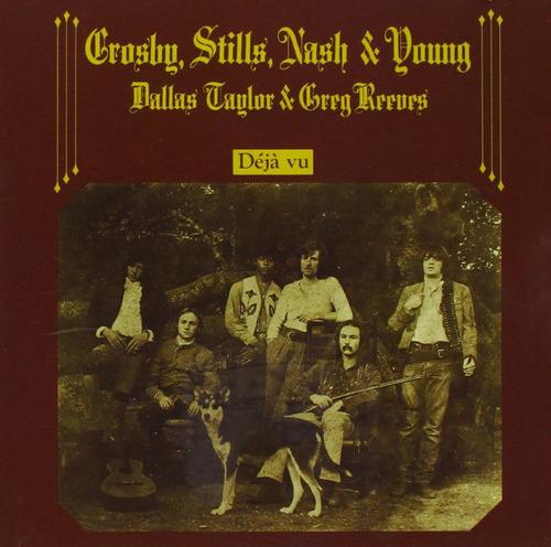 crosby stills & nash deja vu cd nuevo