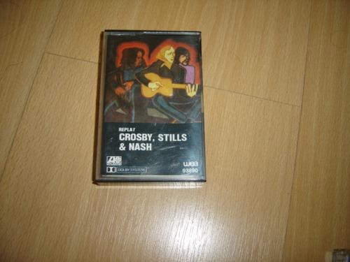 crosby stills nash replay cassette argentina rare tape