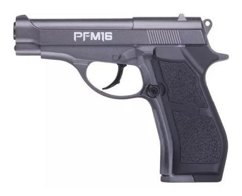 crosman pfm16 co2 full metal + 10 tanques co2 deportiva