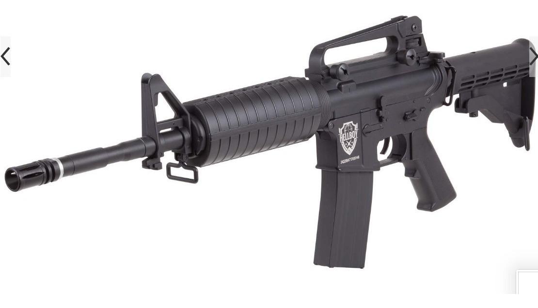Crosman Rifle Hellboy  177 Tactical +1500bbs + 15 Co2 Aceite