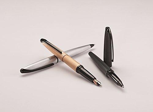 e0fbc37c60dc Cross Atx Brushed Black Ballpoint Pen With Polished Black ...