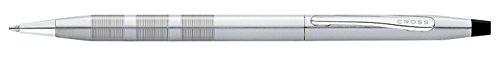 cross bolígrafo clásico del siglo, cromo del satén,