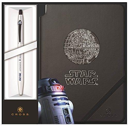 cross clic star wars r2-d2 pluma de tinta de gel y juego de