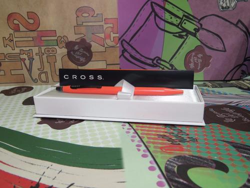 cross esfero roller click naranja rf:625-13