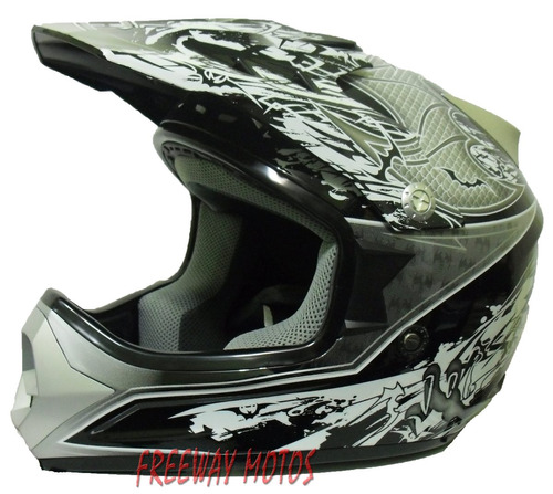 cross motos casco