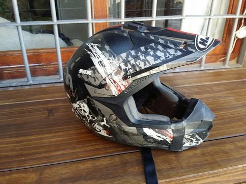 cross motos cascos