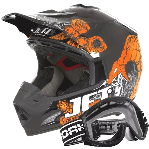 cross pro tork capacete moto