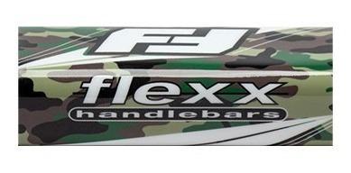 crossbar pad de manubrio flexx para cuatriciclo atv
