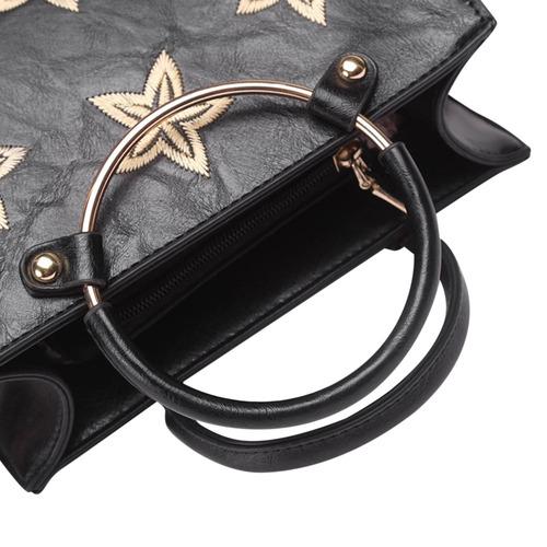 crossbody hombro impresión estrella anillo de la bolsa de a