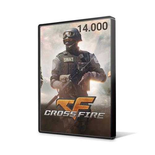 crossfire jogo pc - cartão de 14.000 zp cash - imediato