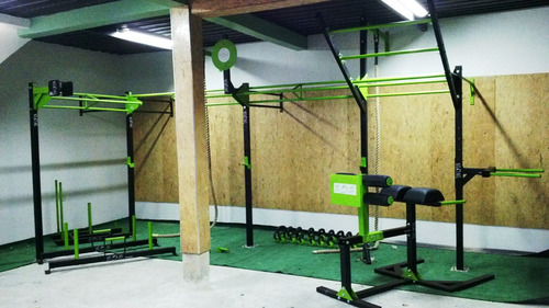 crossfit box y rack  crossfit ; gym trx