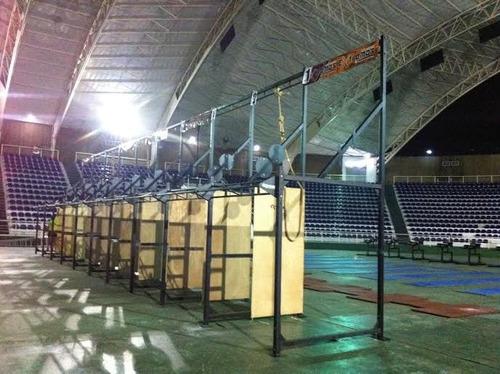 crossfit box y rack crossfit ; gym trx, fitness