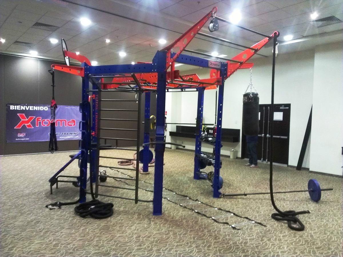 Crossfit equipo entrenamiento funcional para 20 personas for Equipo para gym