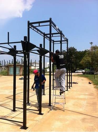 crossfit rack ; gym