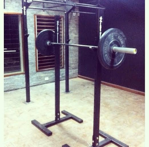 crossfit rack  y box ; gym