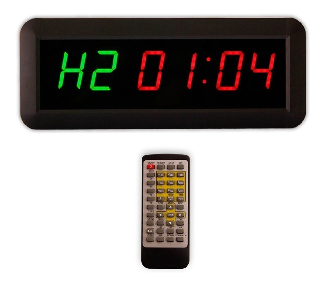Pared Crossfit Temporizador Intervalos Reloj Cronometro SzMVqUp