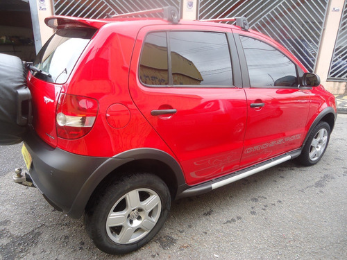 crossfox 2009 vermelho tudo original