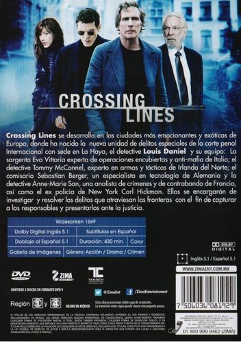 crossing lines primera temporada 1 uno dvd