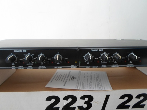 crossover 223xl dbx profesional products