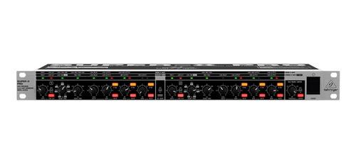 crossover analógico 3 canais super x pro cx 3400 - behringer