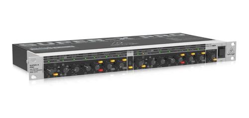 crossover behringer cx3400 divisor 3 vias stereo 4 vias mono