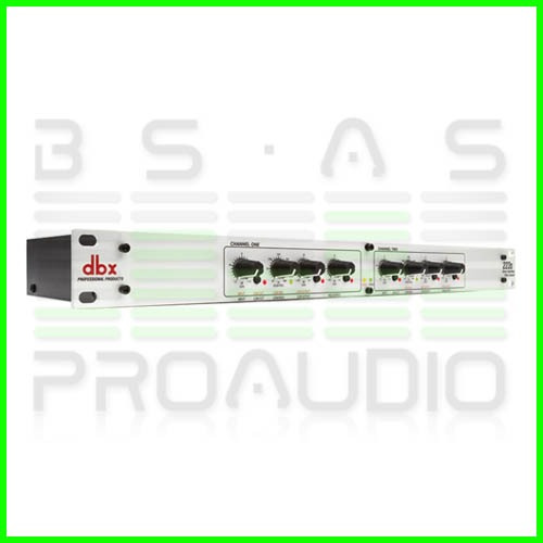 crossover divisor de frecuencia dbx 223xs 2vias st o 3 mono