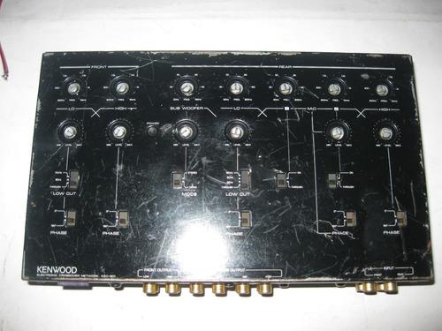 crossover electronico kenwood