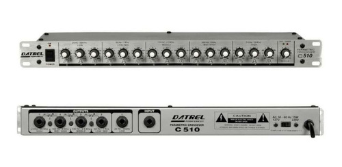 crossover parametrico de 5 vias de audio - som profissional