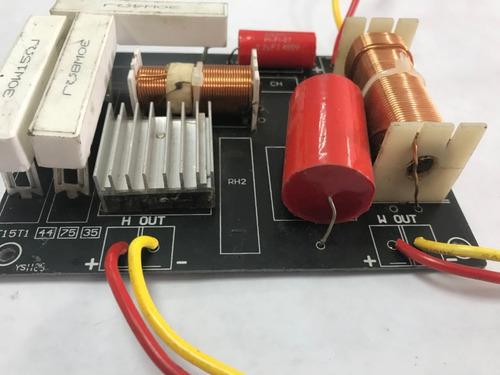 crossover pasiva 2 vias divisor de frecuencia