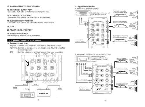 crossover power acoustik eletrônico 3 vias c-3184 americano