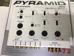Crossover Pyramid Cr-72 4 Vias Branco