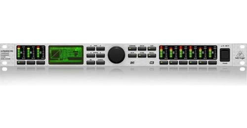 crossover ultradrive pro dcx2496 -  behringer + nf +garantia - com nota fiscal e garantia de 2 anos proshows!