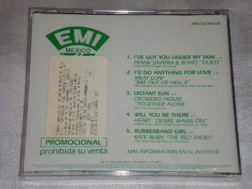 crowded house kate bush frank sinatra cd promo emi 1993
