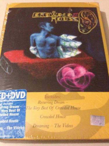 crowded house recurrring dream 2 cd + dvd nuevo nacional