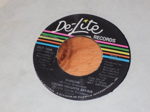 crown heights affair dancin' usa 7'' simple soul disco funk