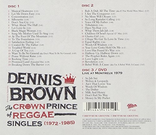 crown prince of reggae singles (1972-1985) [2 cd /1 dvd