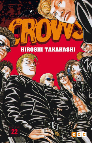 crows 22 hiroshi takahashi libro ecc manga de