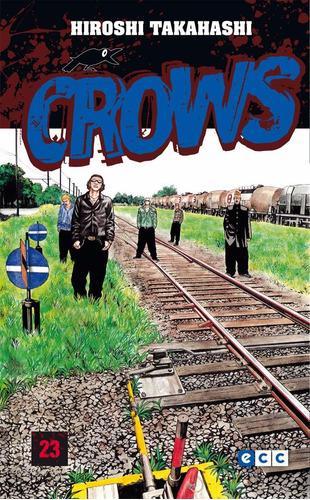 crows 23 hiroshi takahashi libro ecc manga de