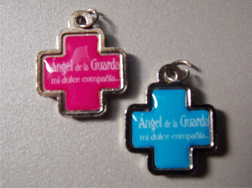 cruc angelitos porfis souvenir bautismo comunion superofert