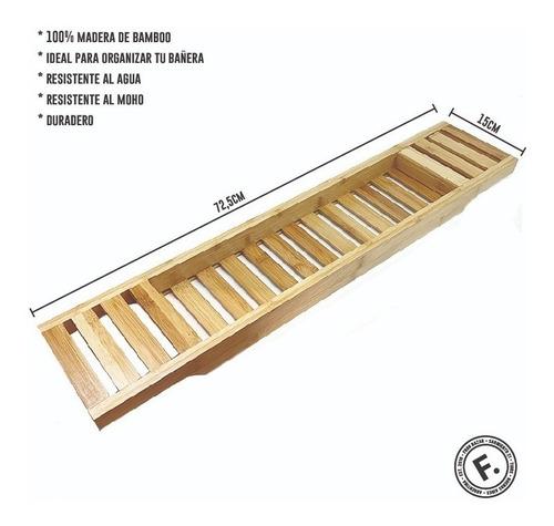 cruce de bañera bamboo bambu